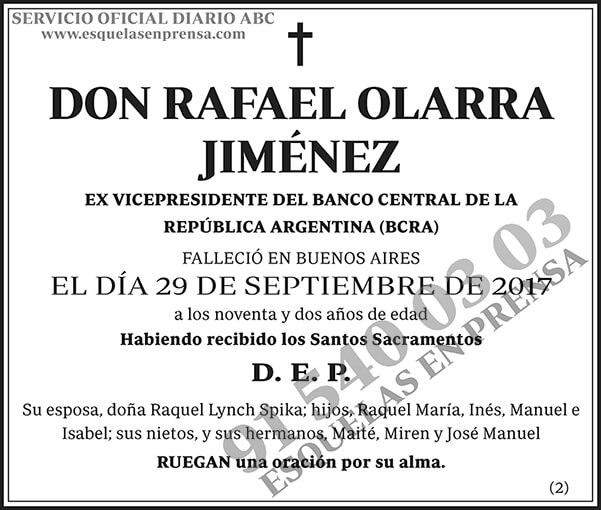Rafael Olarra Jiménez